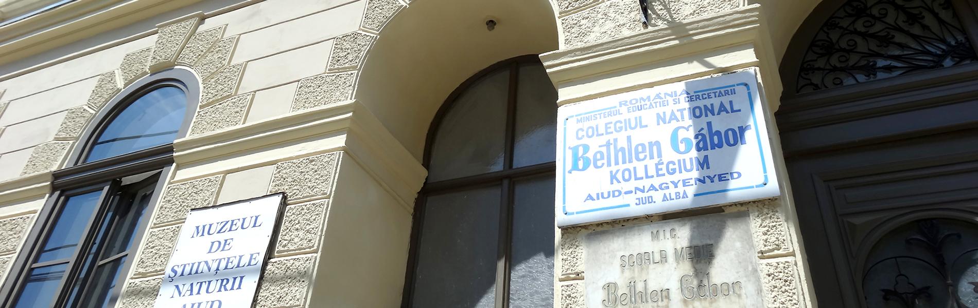 A nagyenyedi Bethlen Gábor Kollégium Alapítványának hivatalos honlapja