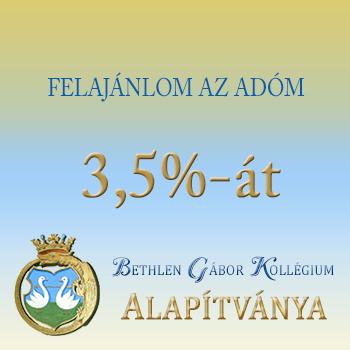 Adó 3,5% felajánlás